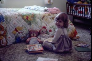 Melissia Bruehl as toddler