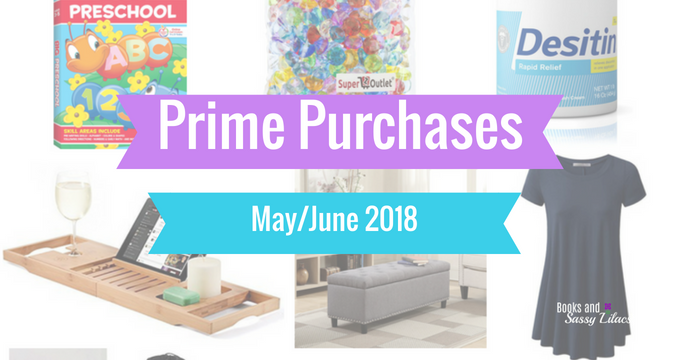 Prime Purchases May June 2018
