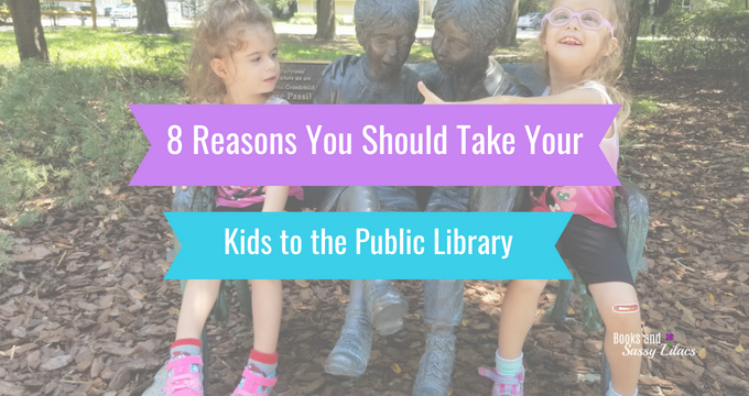 8 Reasons You Should Take Your Kids to the Public Library