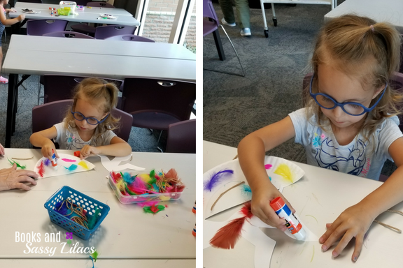 Crafts at the library