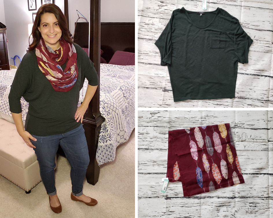 September 2018 Stitch Fix Outfit 1