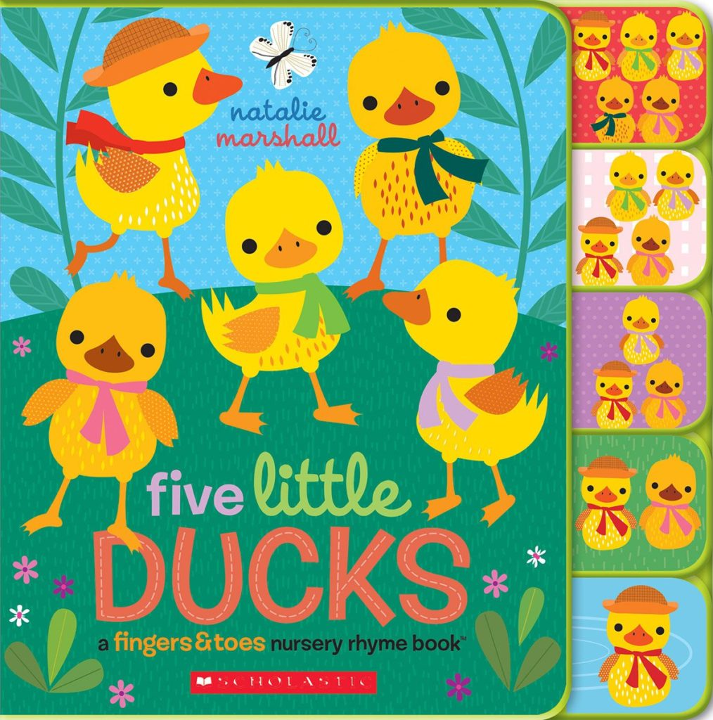 Five Little Ducks  A Fingers & Toes Nursery Rhyme Book
