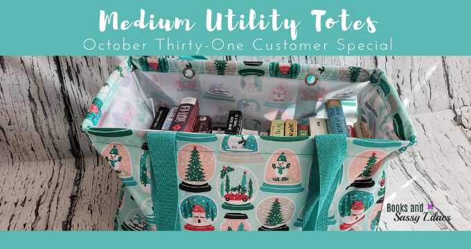 Medium Utility Totes – October Thirty-One Customer Special