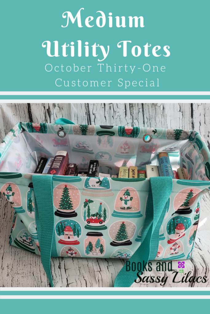 Medium Utility Tote, October Customer Special #utilitytote #thirtyoneutilitytote #Thirty-One #thirtyonebags