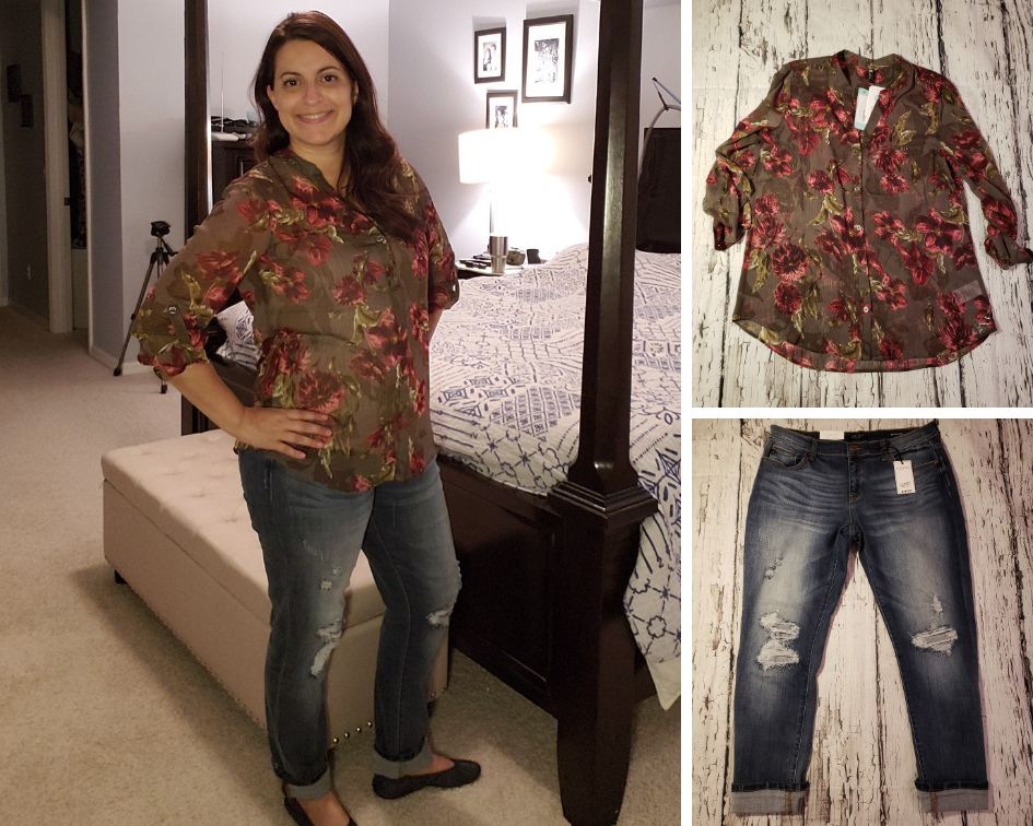 Stitch Fix October 2018 Outfit 1