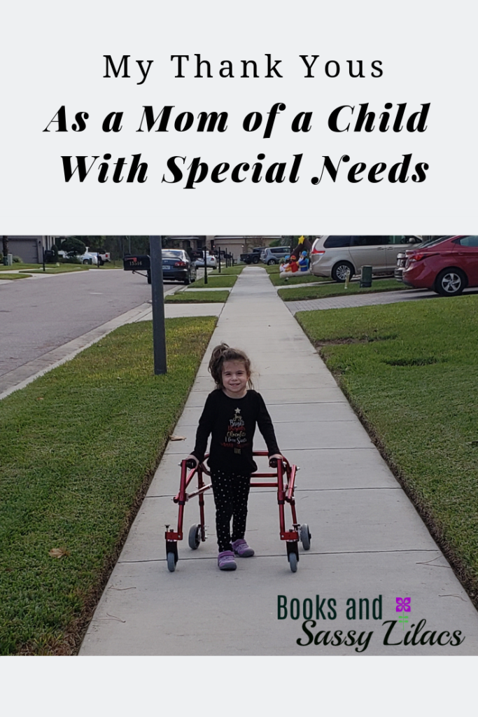 My Thank Yous As a Mom of a Child With Special Needs #specialneeds #autism #autismawareness #thankyou #sadieisable