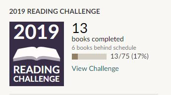 Goodreads Challenge February March 2019