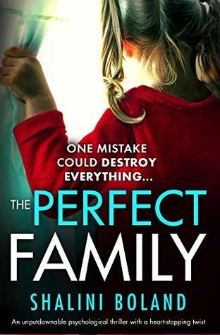 The Perfect Family by Shalini Boland Book Cover