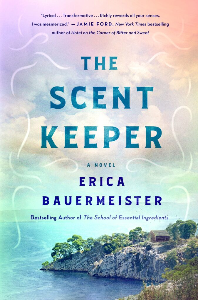 The Scent Keeper by Erica Bauermeister Cover Photo