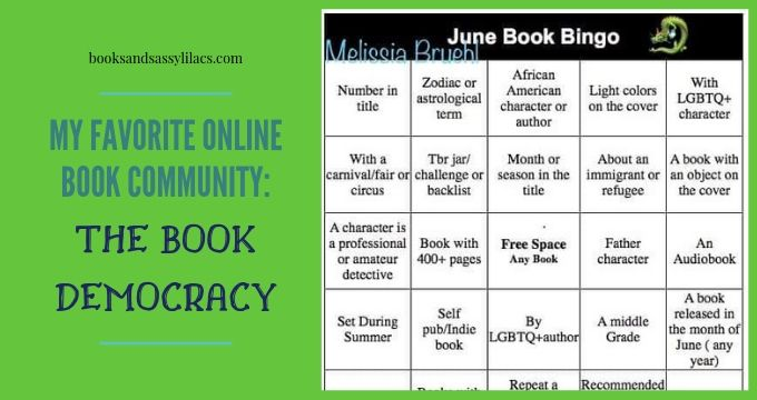 My Favorite Online Book Community: The Book Democracy