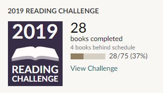 May 2019 Goodreads Update